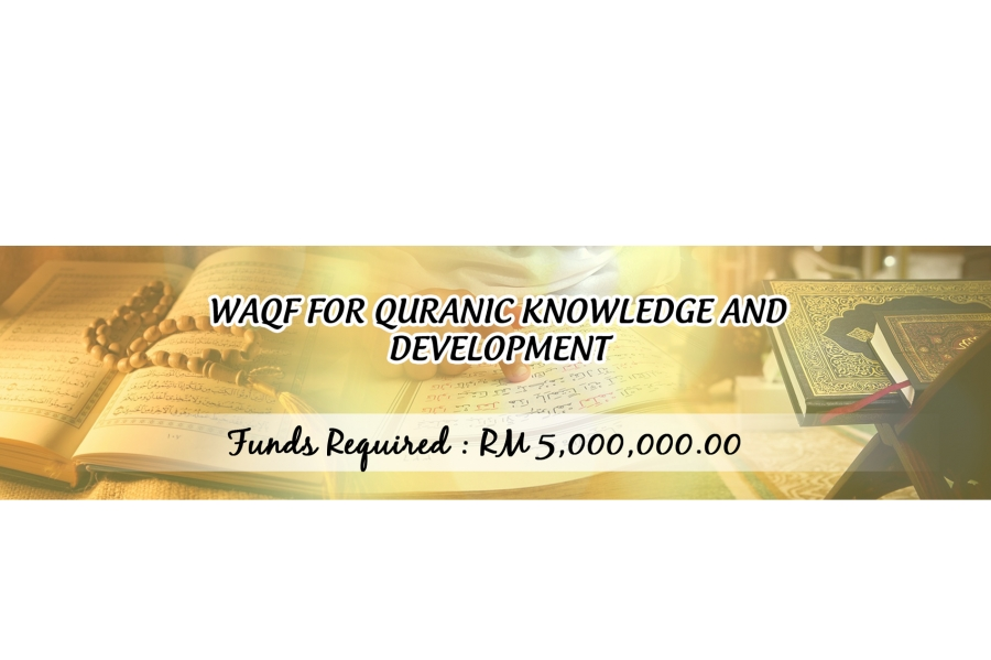 Waqf For Quranic Knowledge and Development